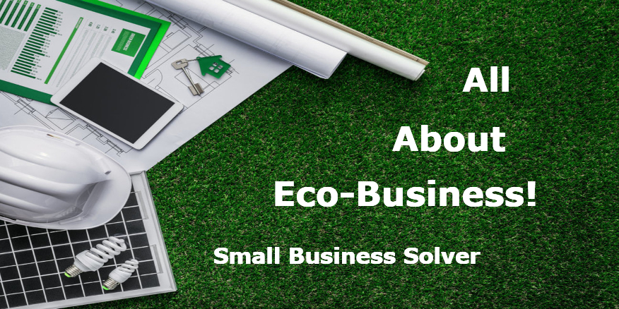 Eco-business graphic